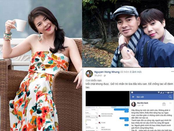 Nghi án danh hài Xuân Bắc đánh vợ vì Kim Oanh?