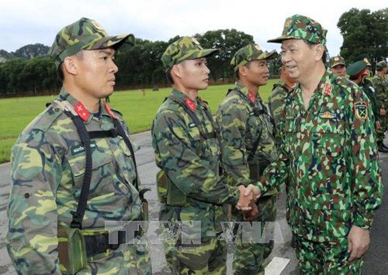 Chủ tịch nước Trần Đại Quang,Trần Đại Quang,Bộ Quốc phòng