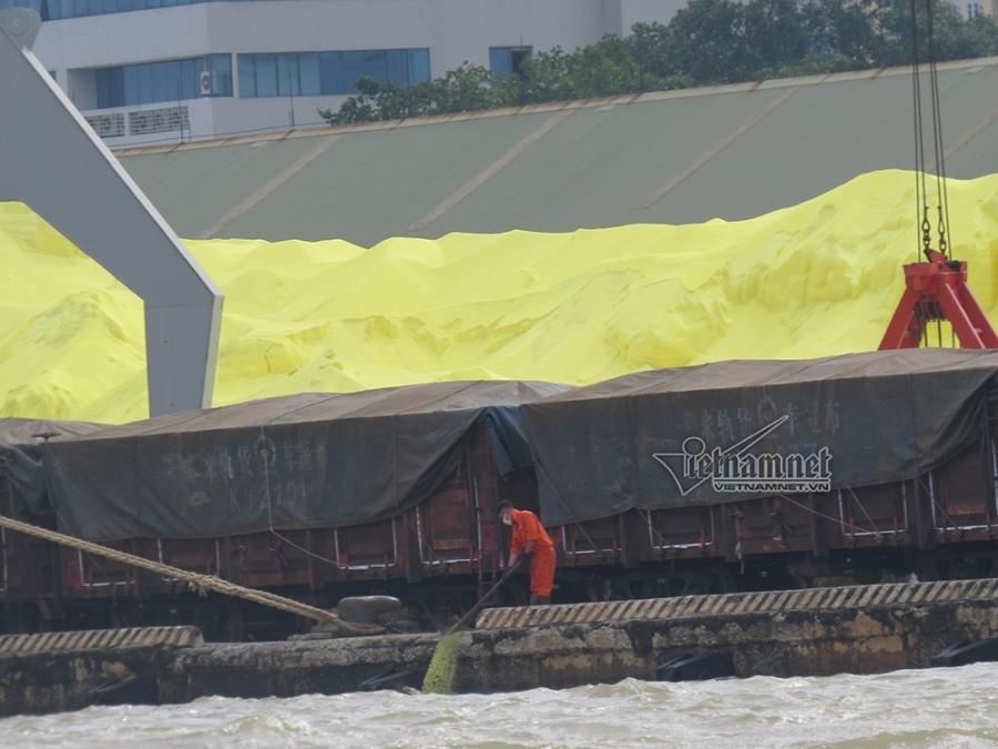 lưu huỳnh, thảm họa môi trường, cảng Hải Phòng, Hải Phòng, ô nhiễm môi trường