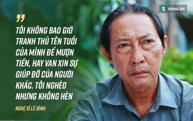 Cuộc đời cay đắng của nghệ sĩ Lê Bình: Con nghiện, vợ nợ nần vì mê đề đóm - Ảnh 1.