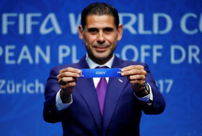 Thụy Điển quyết đấu với Ý ở vòng play-off World Cup 2018