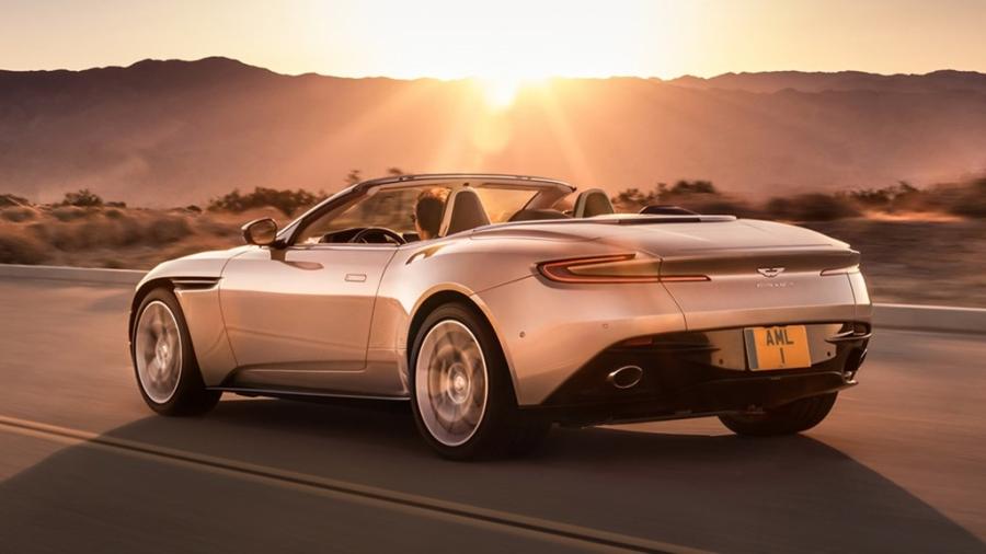 Xe sang Aston Martin DB11 mui tran chinh thuc mo ban hinh anh 5