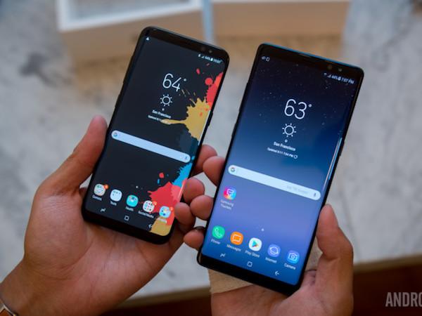 Samsung Galaxy S8 cũng có thể chụp xóa phông như Note 8