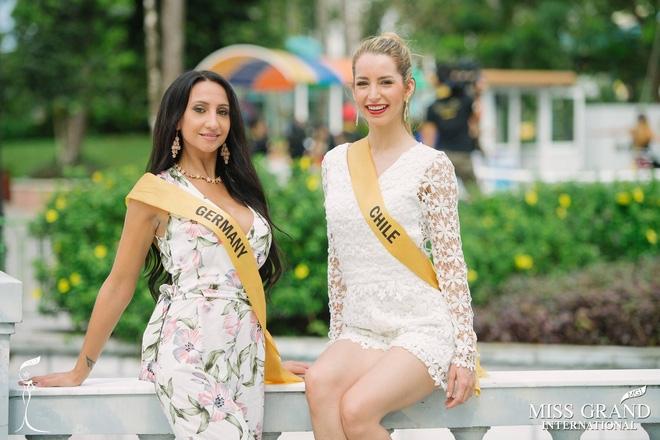 Nhan sắc gây sốc của nhiều thí sinh dự thi Hoa hậu Hoà Bình Quốc tế tại VN - Ảnh 11.