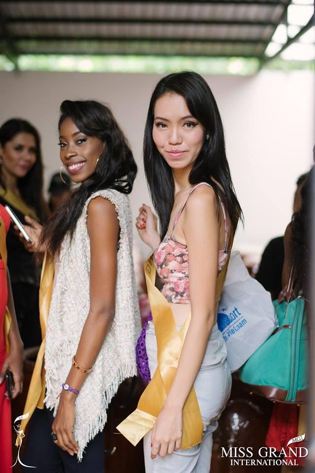 Nhan sắc gây sốc của nhiều thí sinh dự thi Hoa hậu Hoà Bình Quốc tế tại VN - Ảnh 16.