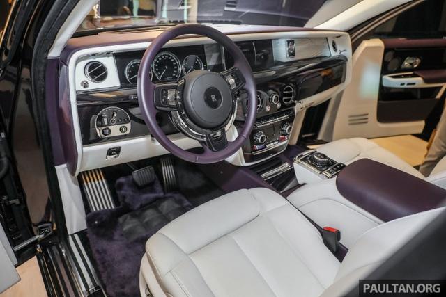 Xe siêu sang Rolls-Royce Phantom 2018 ra mắt Đông Nam Á với giá chưa thuế từ 11,8 tỷ Đồng - Ảnh 12.