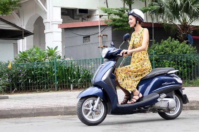 Yamaha trang bi cong nghe cao cap cho xe tay ga tam trung hinh anh 1