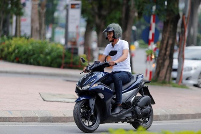 Yamaha trang bi cong nghe cao cap cho xe tay ga tam trung hinh anh 2