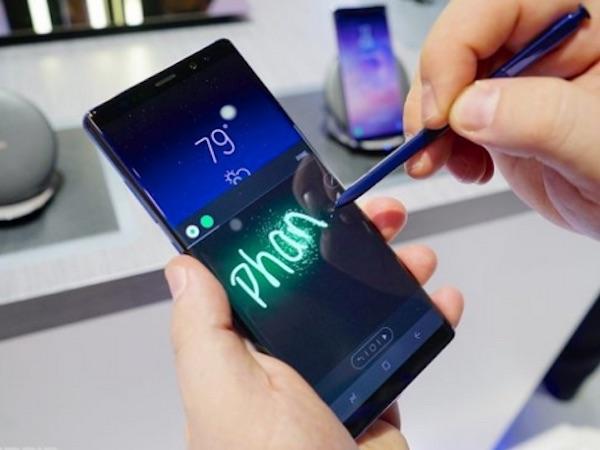 Bút S Pen trên Galaxy Note9 sẽ có nhiều tính năng hơn