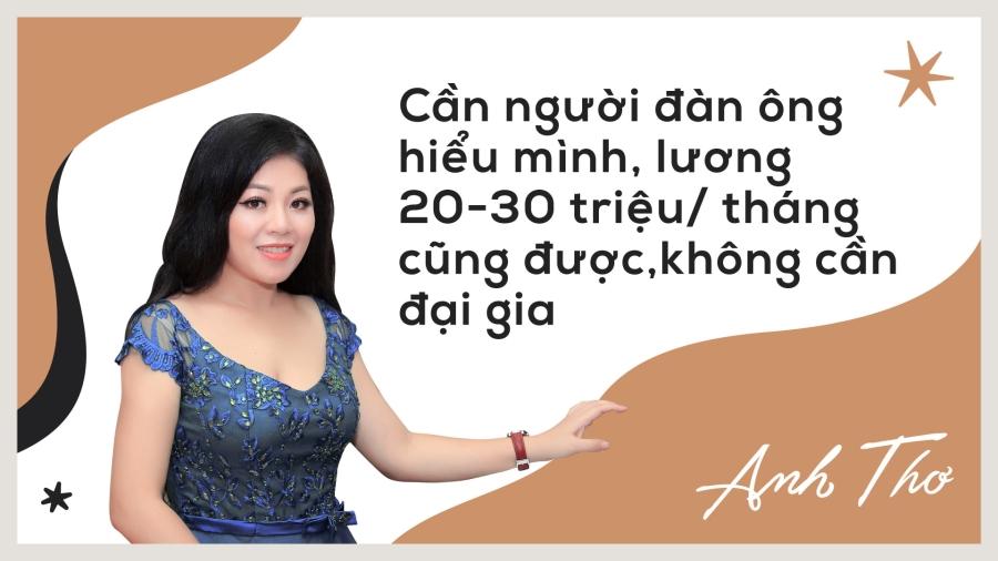 Anh Tho: 'Khong hat dam cuoi nhung tieu chang het tien' hinh anh 8