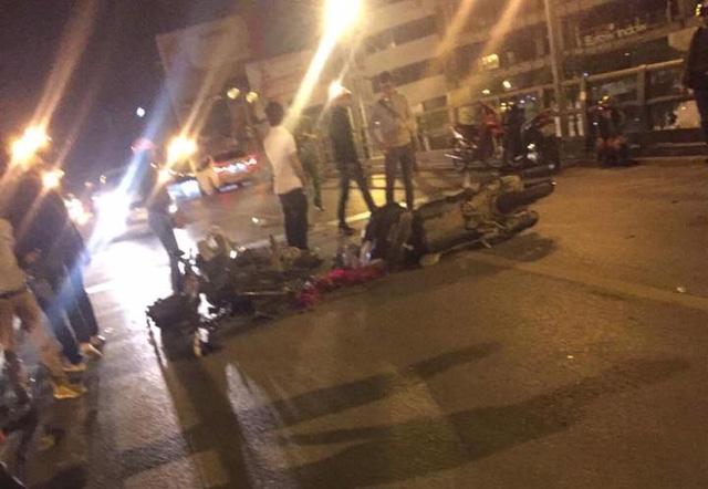 Hà Nội: Honda SH chở 3 tông vào Honda Wave lúc nửa đêm, 1 người tử vong tại chỗ - Ảnh 3.