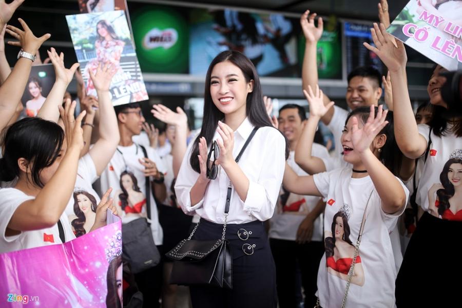 Hoa hau My Linh tuoi tan truoc gio sang Trung Quoc thi Miss World 2017 hinh anh 3