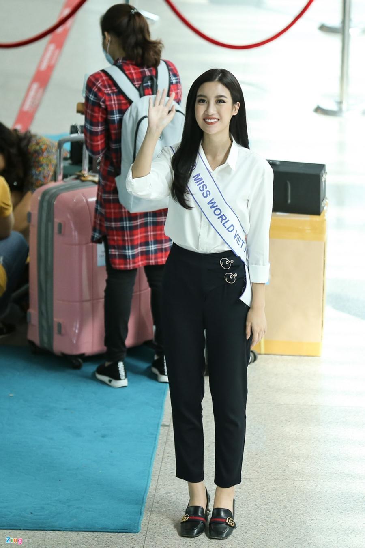 Hoa hau My Linh tuoi tan truoc gio sang Trung Quoc thi Miss World 2017 hinh anh 7