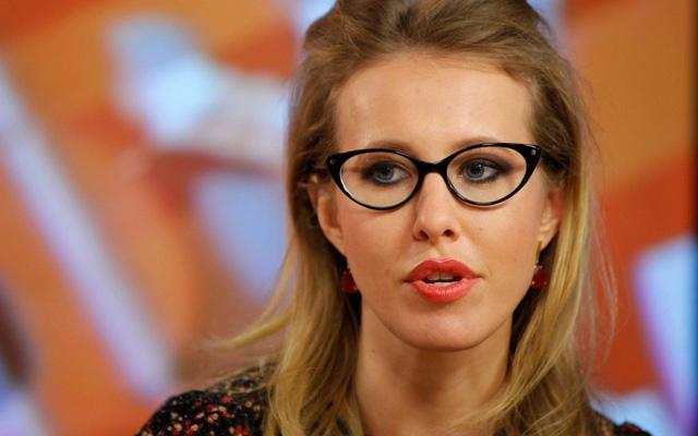 Người dẫn chương trình truyền hình nổi tiếng của Nga Ksenia Sobchak (Ảnh: Getty)