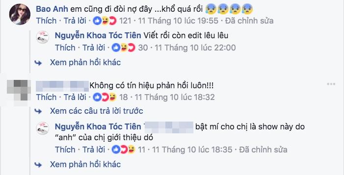 Tóc Tiên liên tục đăng status lấp lửng chuyện bị bầu show quỵt tiền gần nửa năm chưa trả? - Ảnh 3.