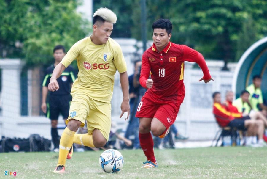 U19 Viet Nam thua trang 5 ban truoc doi tre Ha Noi hinh anh 4