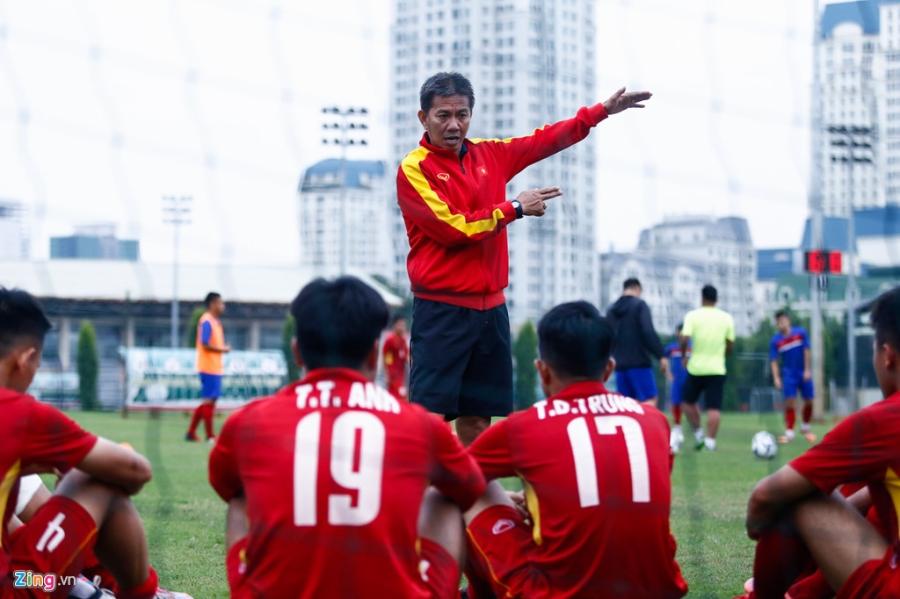 U19 Viet Nam thua trang 5 ban truoc doi tre Ha Noi hinh anh 6