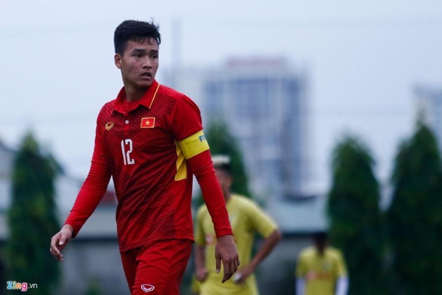 U19 Viet Nam thua trang 5 ban truoc doi tre Ha Noi hinh anh 11