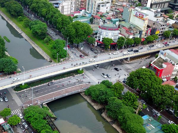 10 cầu vượt nhẹ xóa điểm đen ùn tắc giao thông thủ đô