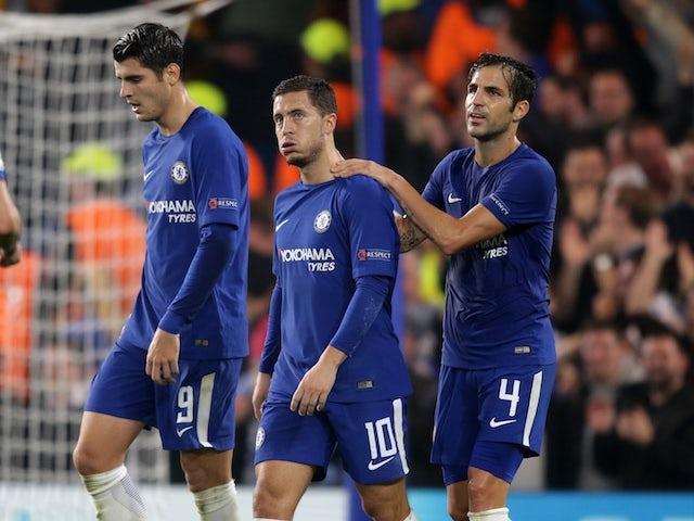 Hazard rực sáng trong trận đấu với AS Roma