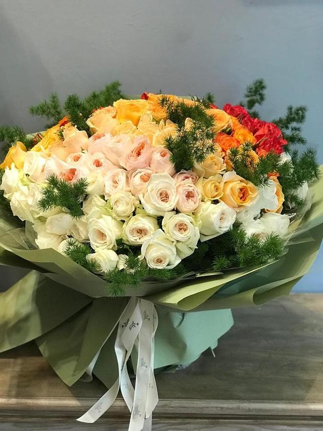 Bó hoa khủng giá 20 triệu đồng