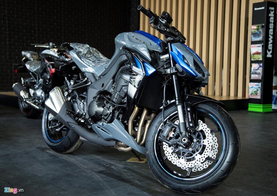 Loat moto Kawasaki phien ban 2018 ve Viet Nam hinh anh 5