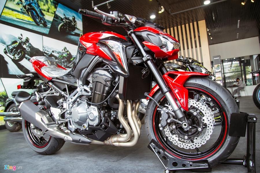 Loat moto Kawasaki phien ban 2018 ve Viet Nam hinh anh 7