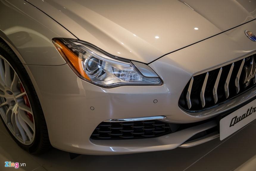 Maserati Quattroporte GranLusso gia hon 8 ty tai Viet Nam hinh anh 3
