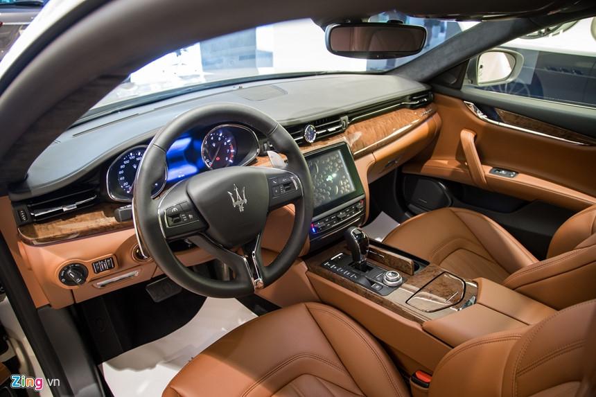 Maserati Quattroporte GranLusso gia hon 8 ty tai Viet Nam hinh anh 6