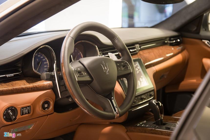 Maserati Quattroporte GranLusso gia hon 8 ty tai Viet Nam hinh anh 7