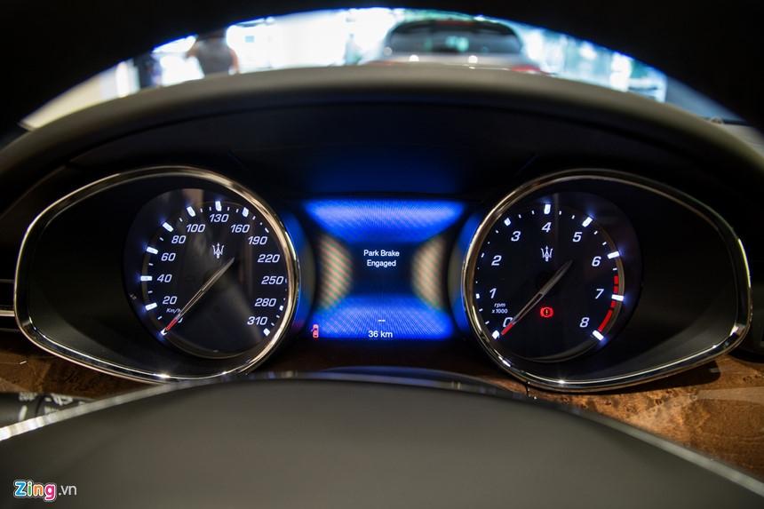 Maserati Quattroporte GranLusso gia hon 8 ty tai Viet Nam hinh anh 8