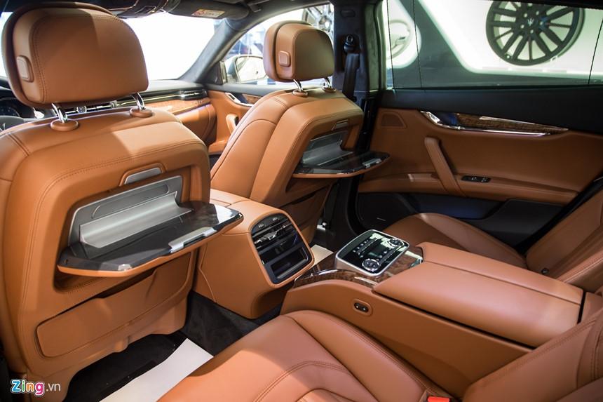 Maserati Quattroporte GranLusso gia hon 8 ty tai Viet Nam hinh anh 10