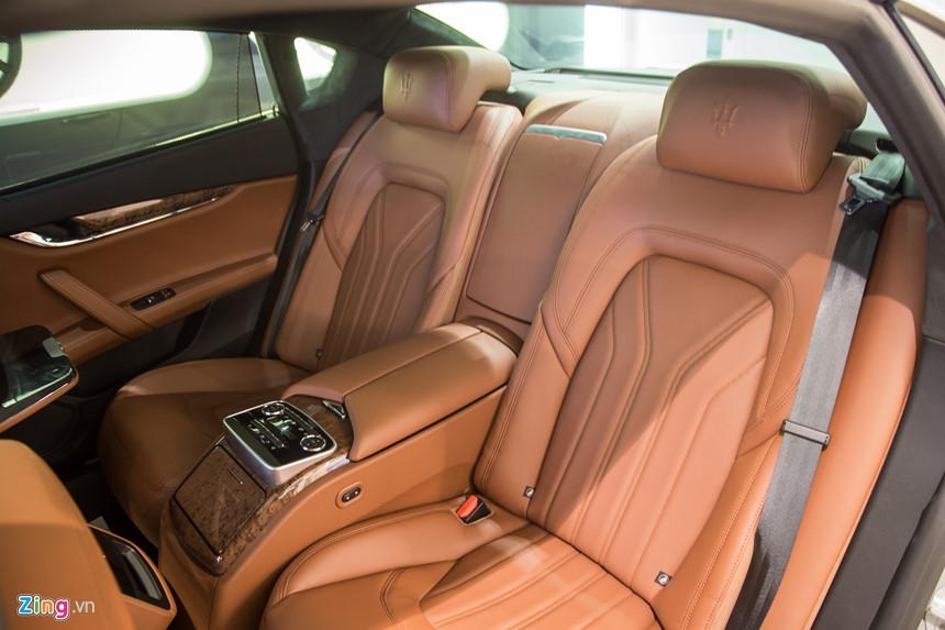 Maserati Quattroporte GranLusso gia hon 8 ty tai Viet Nam hinh anh 11