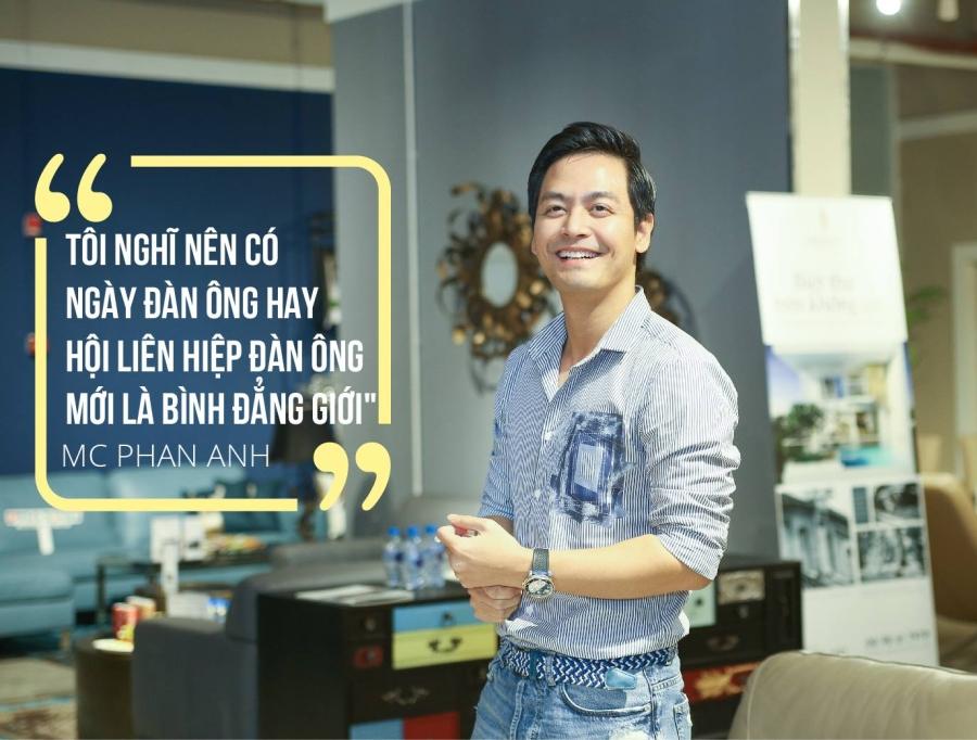 """MC Phan Anh: Hàng triệu đàn ông Việt Nam vẫn đang bị """"bạo hành"""" - 1"""