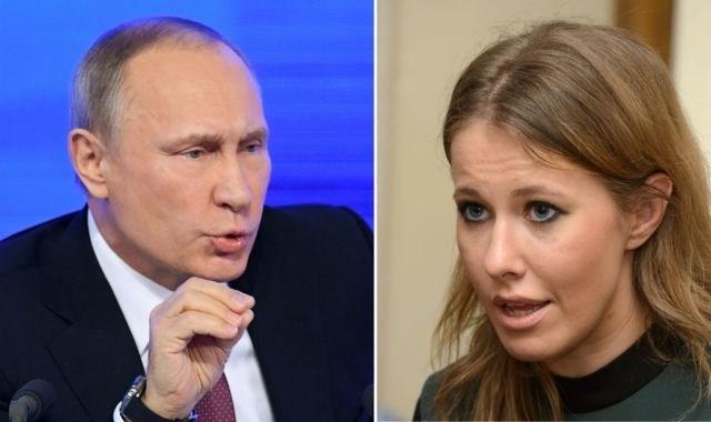 Ông Putin không loại trừ khả năng tổng thống tiếp theo của Nga là nữ, sau khi MC Ksenia Sobchak tuyên bố tranh cử. Ảnh: Wessex FM