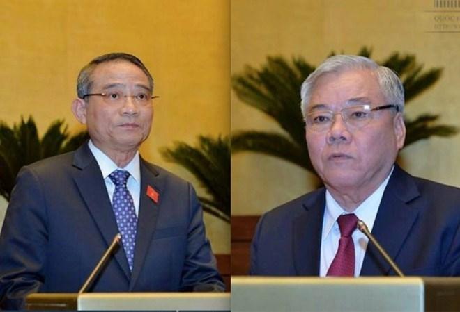 Phê chuẩn Tổng Thanh tra Chính phủ và Bộ trưởng GTVT mới vào ngày 27/10 - ảnh 1