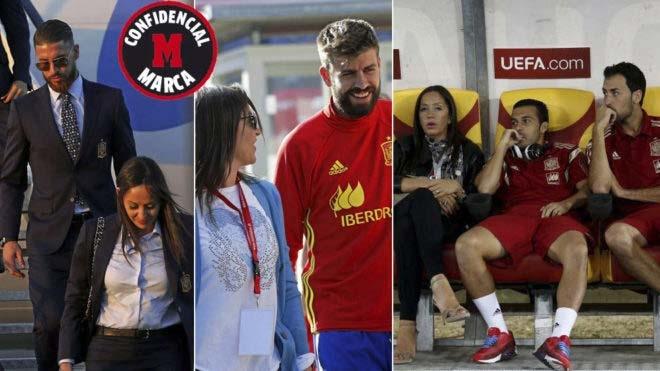 """Pique, Ramos """"nổi loạn"""" trước World Cup 2018: Vì nữ nhân quyền lực - 1"""