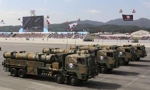 Hệ thống tên lửa Huynmoo-III của Hàn Quốc. Ảnh: Global Security.