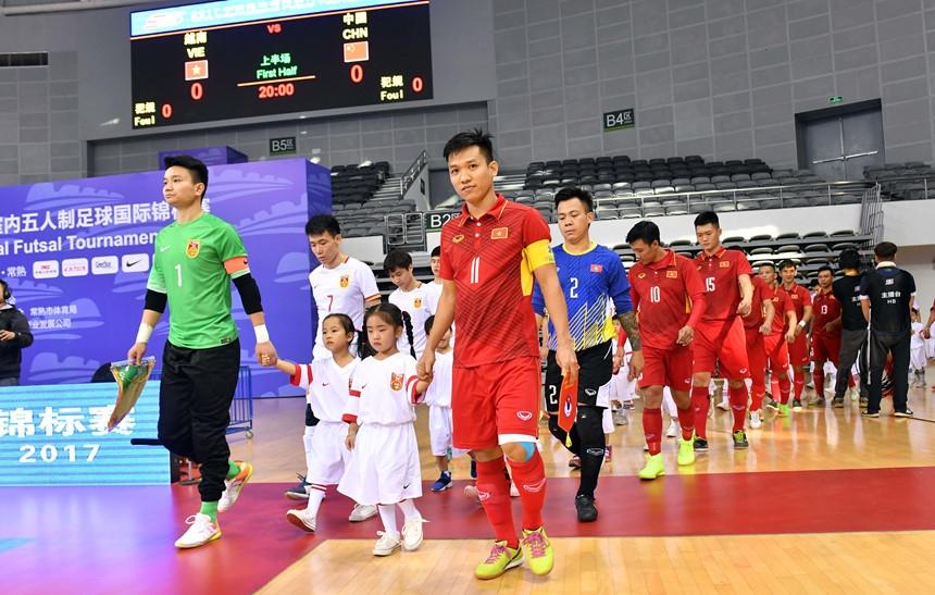 Futsal Viet Nam thang chu nha Trung Quoc 4-3 o cup tu hung hinh anh 1