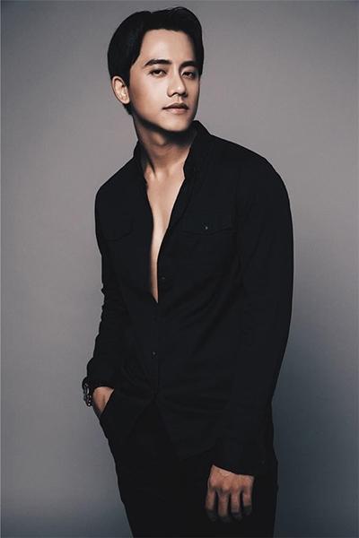 Vẻ điển trai diễn viên của Mai Tài Phến.