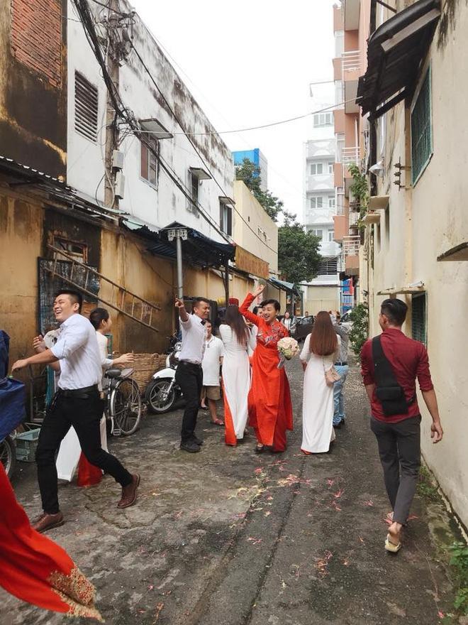 Dân mạng xôn xao trước hình ảnh Ngô Thanh Vân mặc áo dài trong lễ rước dâu - Ảnh 6.