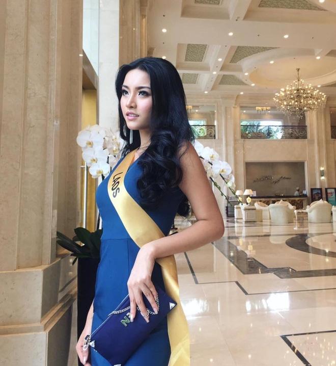 Huyền My giành vị trí vedette trên sân khấu đêm chung kết Hoa hậu Hòa bình 2017 - Ảnh 3.