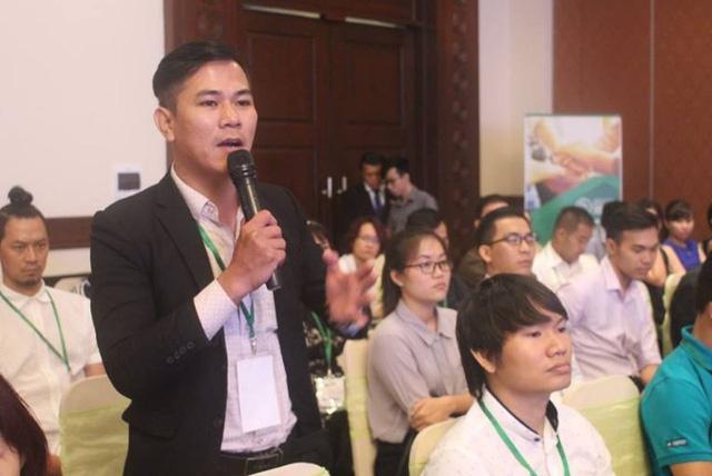 Các SME tham dự tọa đàm đều quan tâm đến vốn và cách vay được vốn