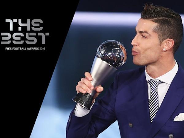 Đêm nay trao giải Cầu thủ xuất sắc nhất FIFA: Gọi tên C.Ronaldo