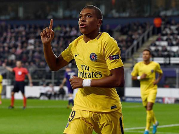Mbappe giành giải Cậu bé vàng 2017