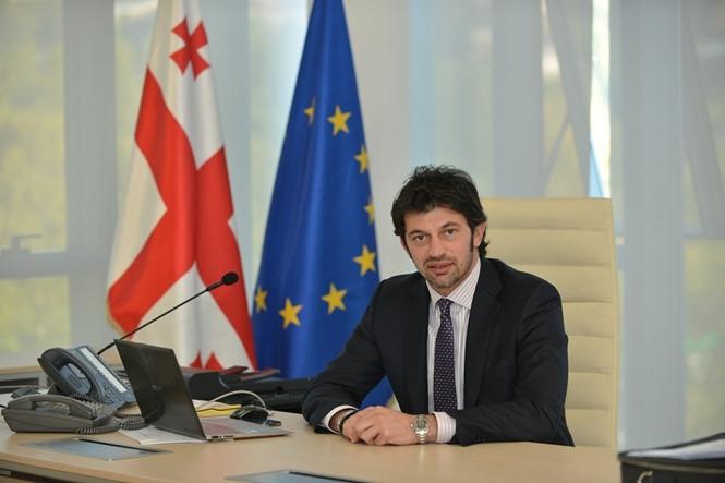 Cựu ngôi sao của AC Milan Kakha Kaladze được  bầu làm Thị trưởng thủ đô của nước Georgia  /// CHỤP MÀN HÌNH