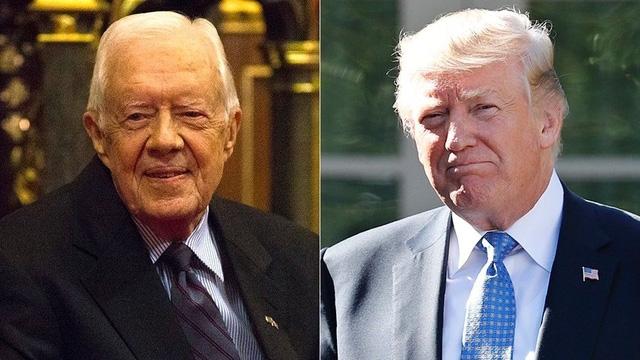 Cựu tổng thống Carter nói truyền thông bất công với ông Trump - Ảnh 1.