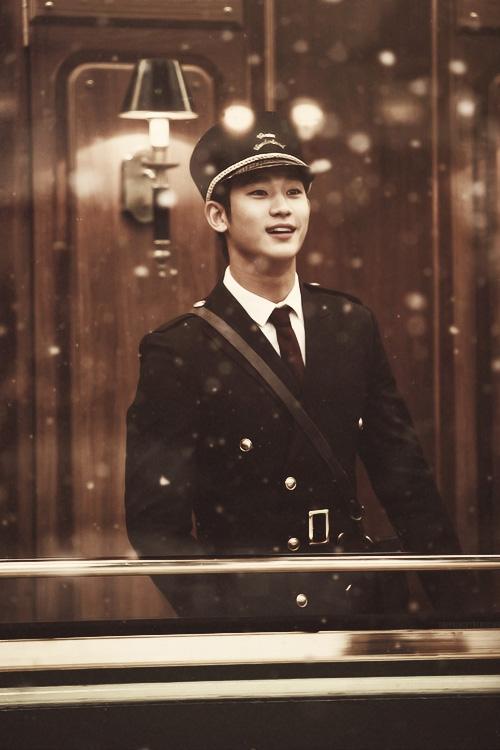Mỹ nam Vì sao đưa anh tới Kim Soo Hyun bí mật nhập ngũ vào hôm nay (23/10) - Ảnh 1.