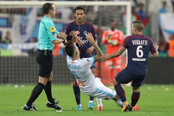 Neymar nhan the do, Cavani toa sang giup PSG cam hoa Marseille hinh anh 10