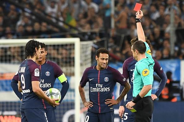 Neymar nhan the do, Cavani toa sang giup PSG cam hoa Marseille hinh anh 11